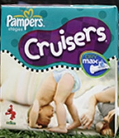 pampers new cruisers