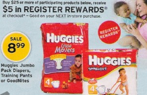wags and huggies deal