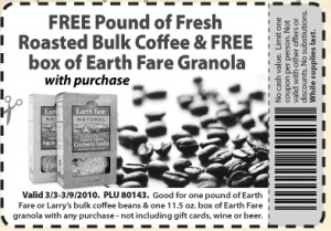 EARTHFARE COFFEE