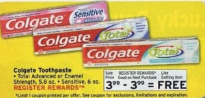 colgate total at wags