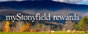 stonyfield rewards