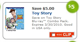toy story coupon