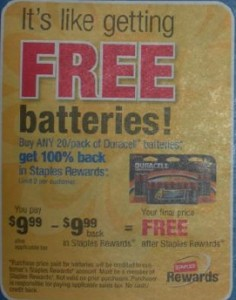 batteries at staples