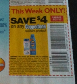 Coupons coppertone