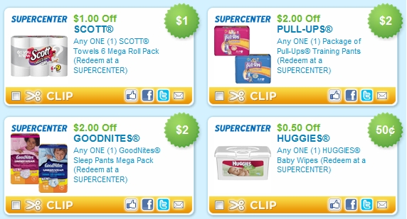Pullups coupons