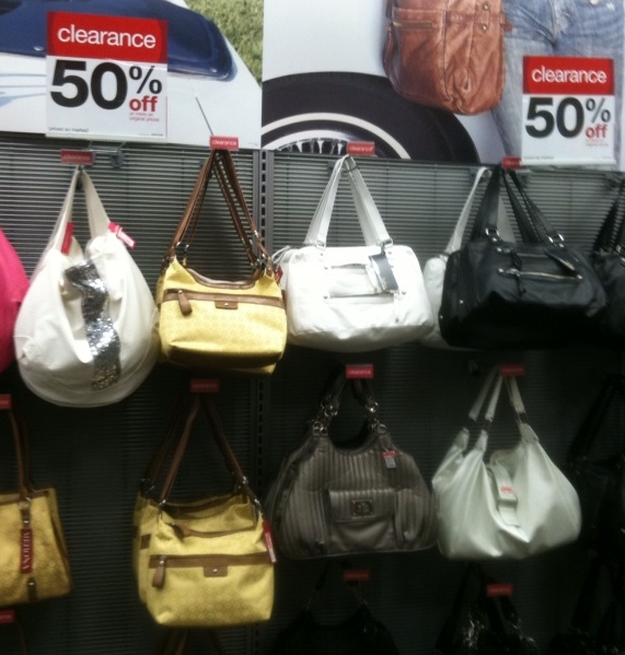 There Is A New 3 Off Merona Handbag Target Coupon It Does Not Exclude Clearance And My Had Tons Of Bags