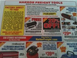 Harbor Freight on Harbor Freight