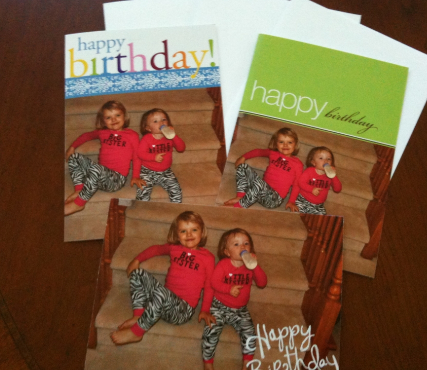 I Just Got My Shutterfly Order In The Mail From When Greeting Cards