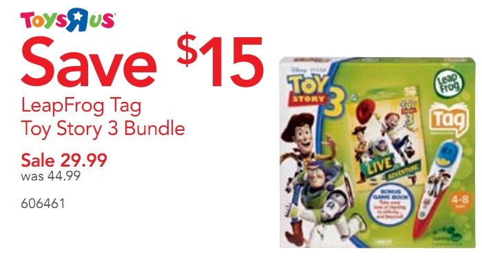 Leapfrog Tag (Toy Story Version) $25 at TRU! - My Frugal ...