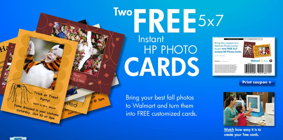 Printable coupon for 2 free hp greeting cards my frugal adventures you m4hsunfo