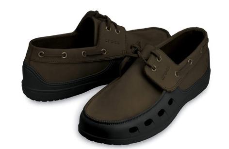 Mens Crocs Hover Slip On Shoe (Navy/White) KKTO2299 - $40.00