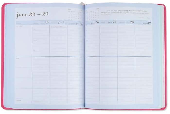 Mom Agenda Day Planners 35% off + Free Shipping - My Frugal Adventures
