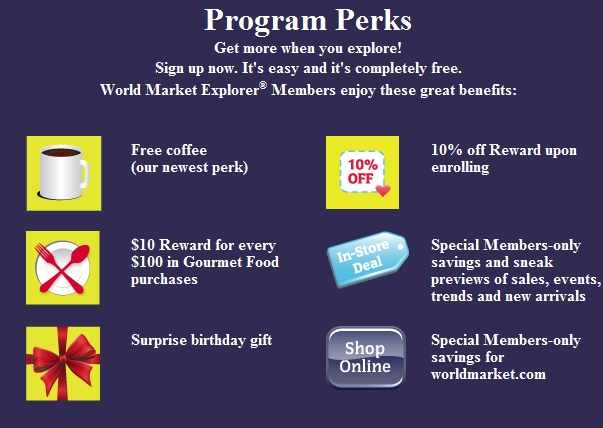 Free 10 Gift Card From World Market My Frugal Adventures