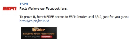How To Get Espn Insider Free