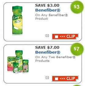 Benefiber coupons printable