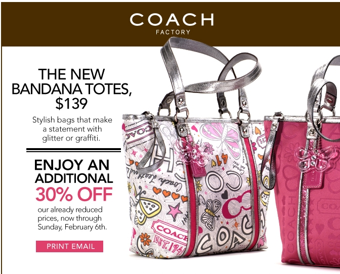 Coach outlet coupon code