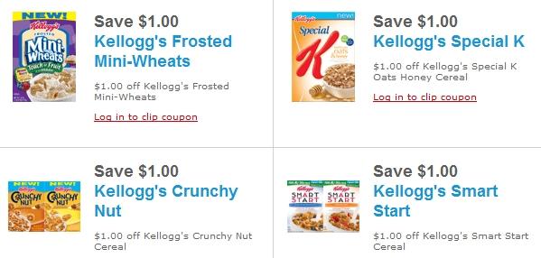 Kelloggs coupons