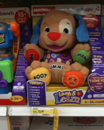 Target: Fisher Price Laugh and Learn Puppy $7 - My Frugal Adventures