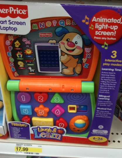 graphic relating to Fisher Price Printable Coupons titled Focus: Fisher Rate Chortle and Discover Pet dog $7 - My Frugal