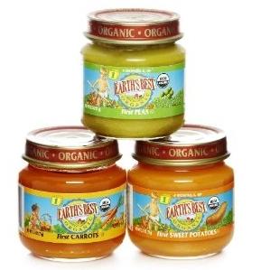 Earth best baby food jars bpa