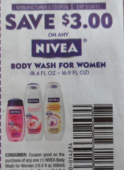 Nivea coupon august 2018