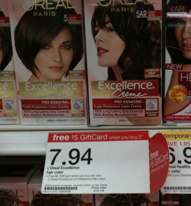 loreal hair color online