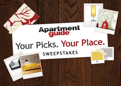 Apartment guide your picks your place sweepstakes eat move make.