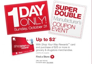 kmart doubles event