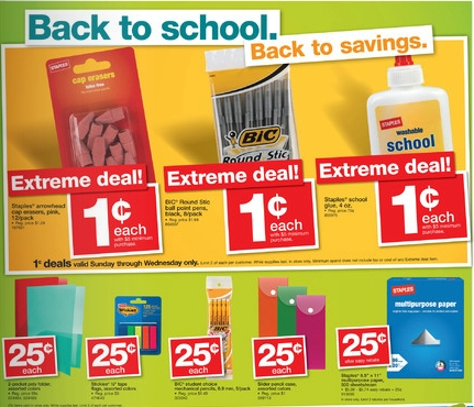 School is almost here, so hurry in to check out some of the biggest back to school sales and deals right now! Shop the hottest school supplies sales from Office Depot & Officemax, Staples, and Walmart.