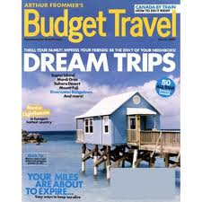 Budget Travel Magazine 3 50 Year My Frugal Adventures