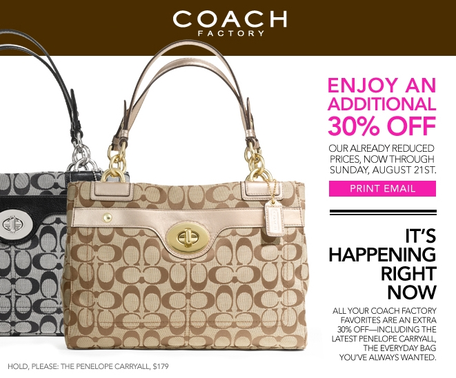 coach coupons outlet 3t15  There is a new Coach coupon