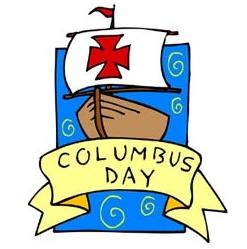 Coupons columbus day