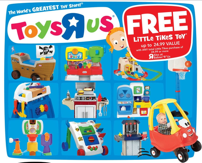 Toys R Us Buy One Little Tikes Toy And Get One Free My Frugal