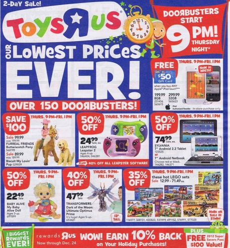 Best black friday deals toys r us