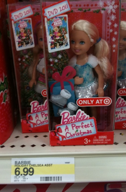 Target: Barbie Doll + Christmas DVD $12 - My Frugal Adventures