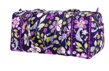 Vera Bradley has a sale today and you can get one of the small duffel bags  ... 2a59471fb4f42