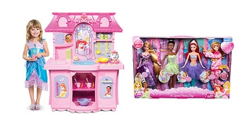 Disney Princess Kitchen + Doll Set $124 - My Frugal Adventures
