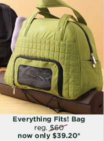 This Everything Fits Bag By Gaiam Is On For 49 Even Better You Can Use Coupon Code Friends11 To Drop Your Total 39 20