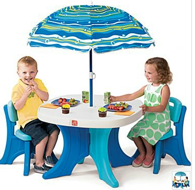 Step 2 Patio Set For Kids $20 Shipped!