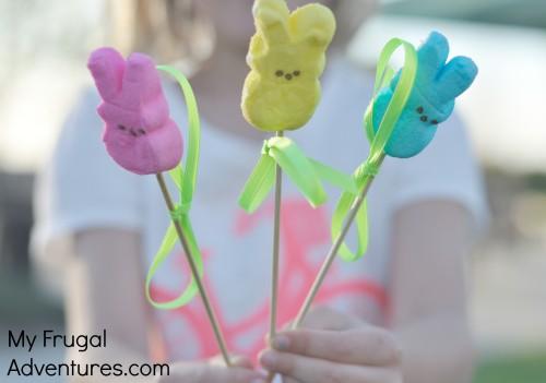 Fun Easter Traditions for Children- Magical Peeps Garden!