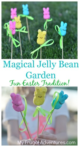 Magical Jelly Bean Garden- a very fun Easter tradition for kids!