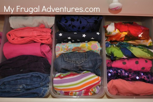 Get Organized: Organizing Children's Clothing