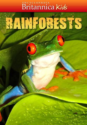 Free Britannica Kids Rainforest App for iPad or iPhone