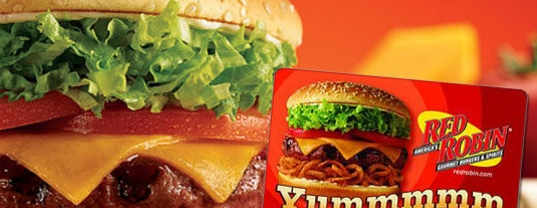 Red Robin 5 For 10 Gift Card My Frugal Adventures