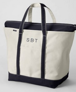 Whether you're grabbing a reusable tote bag to take to the grocery store or need a good-sized bag for your next vacation, these Lands End Canvas Tote Bags are perfect for hauling around groceries, personal items, and everything in-between.