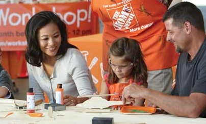 home depot workshop