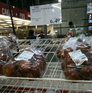 Pretzel Slider Buns 16ct For 649 I Havent Seen These In The Past So Think They Are New