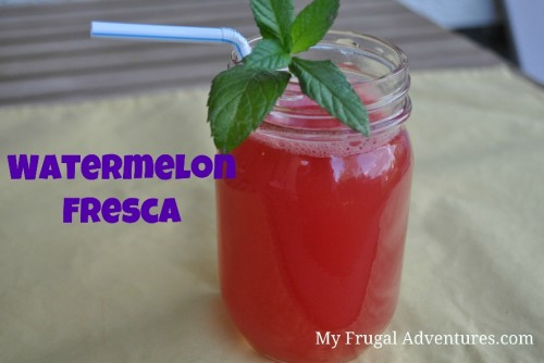 Recipe: Watermelon Agua Fresca