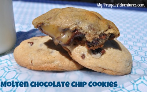 Recipe: Molten Chocolate Chip Cookies
