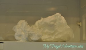 Children's Craft Idea: Ivory Soap Clouds
